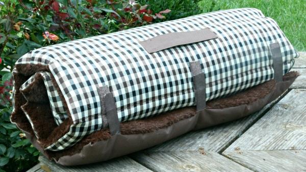 Pat Premium E-Cloth din Microfibra pentru Caini si Pisici, Recomandat pentru Casa si Calatorie, 90 x 60 cm 2