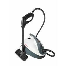 Aparat de Curatat cu Abur Polti Vaporetto Smart 30 R, Emisie Abur 85 g/min, Presiune Abur 3 BAR, 1800 W, Alb/Rosu 0