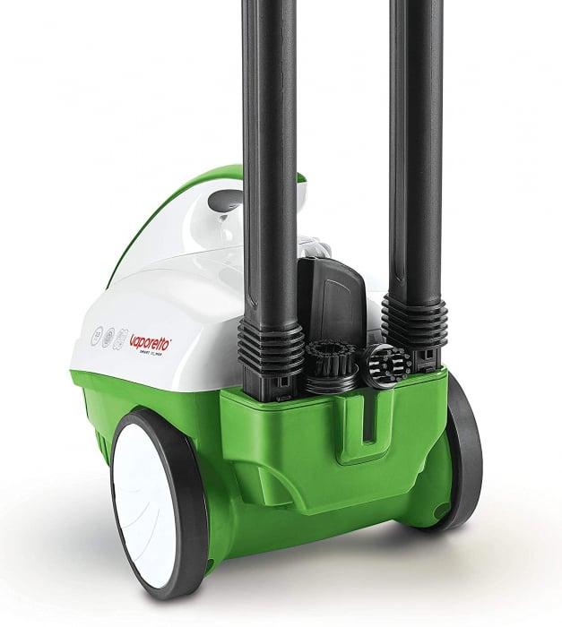 Aparat de Curatat cu Abur Polti Vaporetto Smart 40_Mop,1800W, Emisie Abur  85 g/min, Presiune Abur 3.5 BAR, Alb Albastru 18