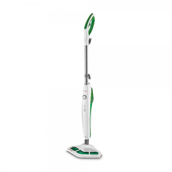 Resigilat_Aparat de Curatat cu Abur Polti Vaporetto SV 400 Hygiene,1500 W, 2.4 Kg, Alb/Verde 0