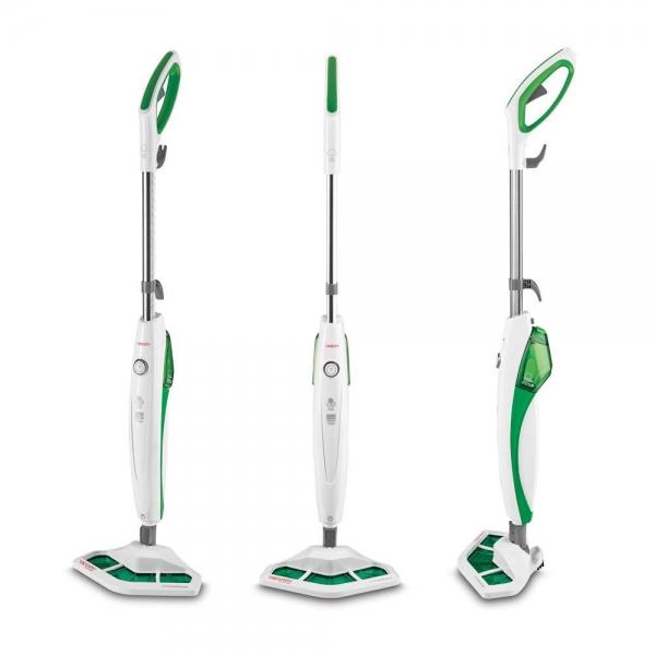 Mop cu Abur Polti Vaporetto SV 400 Hygiene,1500 W, 2.4 Kg, Alb/Verde 1