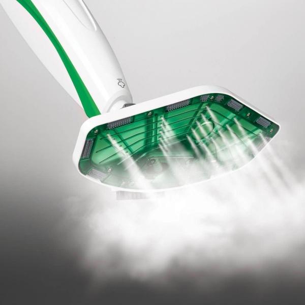 Mop cu Abur Polti Vaporetto SV 400 Hygiene,1500 W, 2.4 Kg, Alb/Verde 5