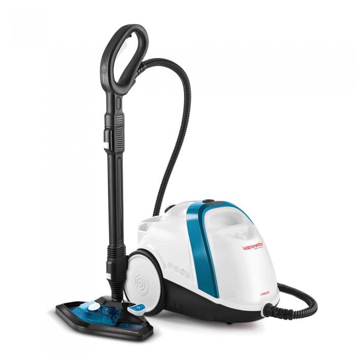 Aparat de Curatat cu Abur Vaporetto Smart 100_T, 1500 W, 2 l, 4 Bar, 110 gr/min, Alb/Albastru 0