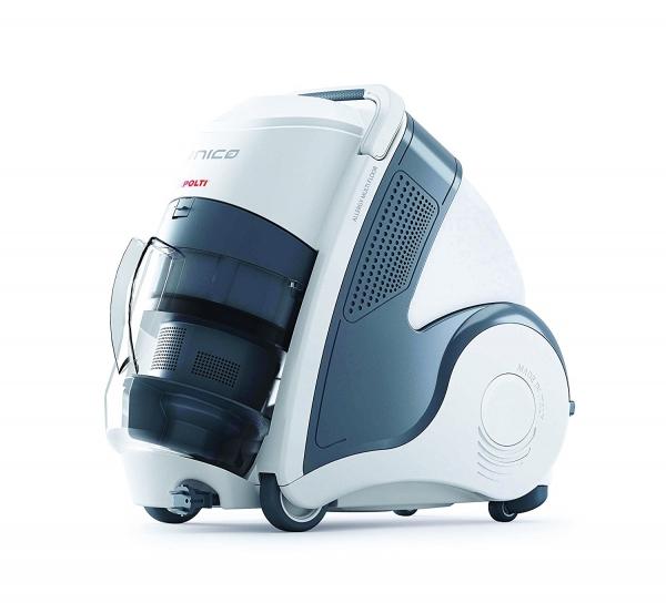 Aspirator Polti Unico MCV 20 Allergy Multifloor, Filtrare Multiciclonica 5 Stadii, Functie Igienizare Abur si Uscare, 2200 W, Filtru Hepa, Argintiu 2