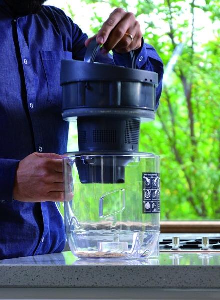 Aspirator Polti Unico MCV 20 Allergy Multifloor, Filtrare Multiciclonica 5 Stadii, Functie Igienizare Abur si Uscare, 2200 W, Filtru Hepa, Argintiu 9