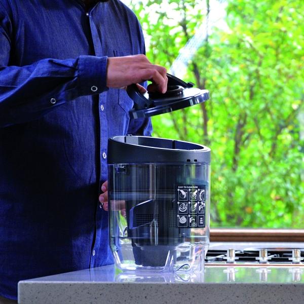 Aspirator Polti Unico MCV 20 Allergy Multifloor, Filtrare Multiciclonica 5 Stadii, Functie Igienizare Abur si Uscare, 2200 W, Filtru Hepa, Argintiu 8