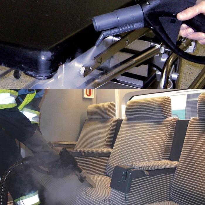 aspirator profesional cu spalare cu abur 1