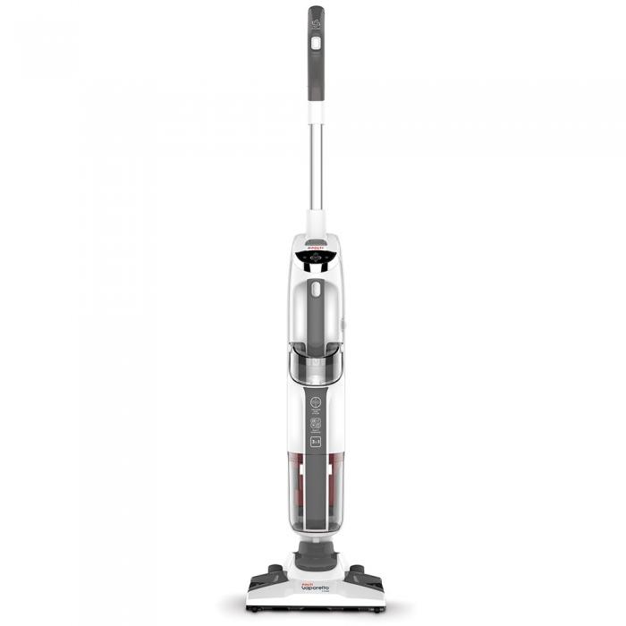 Resigilat_Aspirator Vertical cu Abur, Multifunctional, Polti Vaporetto 3 Clean, 1700 W, 0.5 l, Cyclonic, Alb/Gri 1