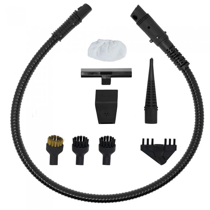 Resigilat_Aspirator Vertical cu Abur, Multifunctional, Polti Vaporetto 3 Clean, 1700 W, 0.5 l, Cyclonic, Alb/Gri 4