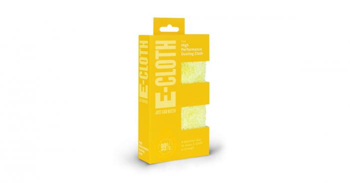 Set Doua Lavete Premium E-Cloth din Microfibra pentru Stergerea Prafului, 32 x 32 cm [8]