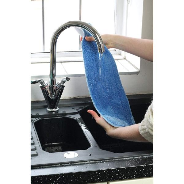 Laveta premium din microfibra e-cloth pentru spalat pardoseli dure [5]