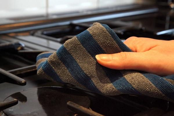 Set Doua Lavete Premium E-Cloth din Microfibra pentru Cuptor, Plita, Aragaz, 32 x 32 cm 6