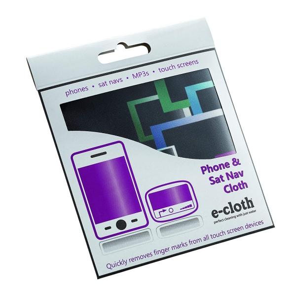 Laveta Premium E-Cloth pentru Ecran Telefon, Tableta, Navigatie, MP3, Touch Screen, 19 x 19 cm 3