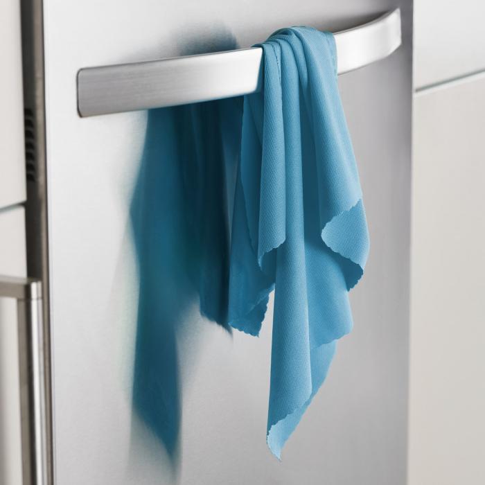 Lavetă Premium E-Cloth din Microfibră pentru Sticlă și Lustruire, Pahare, Geamuri, Vitroceramică, 50  x 40 cm [3]