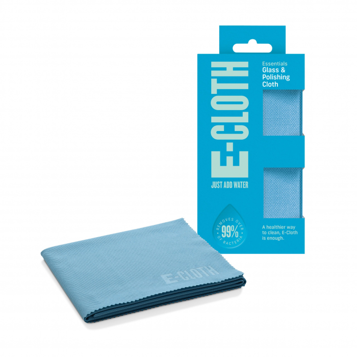 Lavetă Premium E-Cloth din Microfibră pentru Sticlă și Lustruire, Pahare, Geamuri, Vitroceramică, 50  x 40 cm [0]