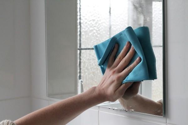 Laveta Premium E-Cloth din Microfibra pentru Sticla si Lustruire, Pahare, Geamuri, Vitroceramica, 50  x 40 cm 9