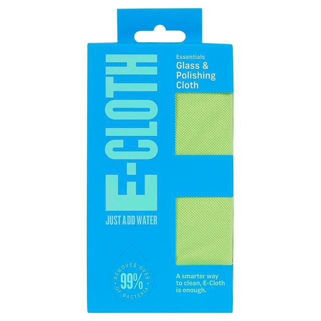 Lavetă Premium E-Cloth din Microfibră pentru Sticlă și Lustruire, Pahare, Geamuri, Vitroceramică, 50  x 40 cm [1]