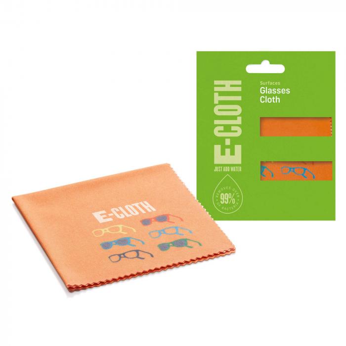 Laveta Premium E-Cloth pentru Curatat Lentilele si Rame de Ochelari, 19 x 19 cm [0]