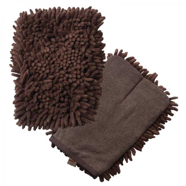 Manusa Premium E-Cloth din Microfibra pentru Curatare si Spalare Caini si Pisici, 23.5 x 17 cm 2