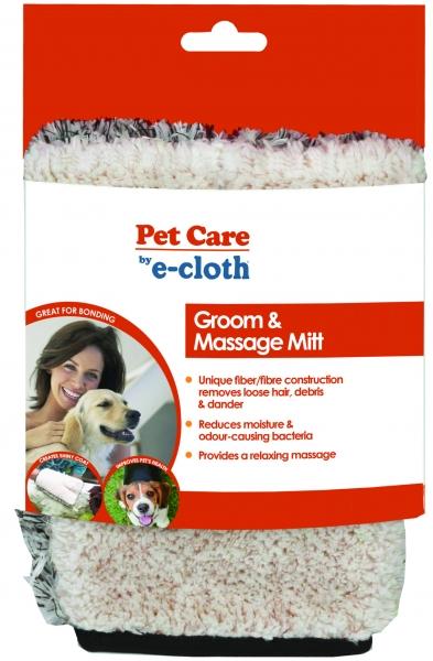 Manusa Premium E-Cloth din Microfibra pentru Ingrijire si Masaj Cani si Pisici, 23.5 x 17 cm [3]