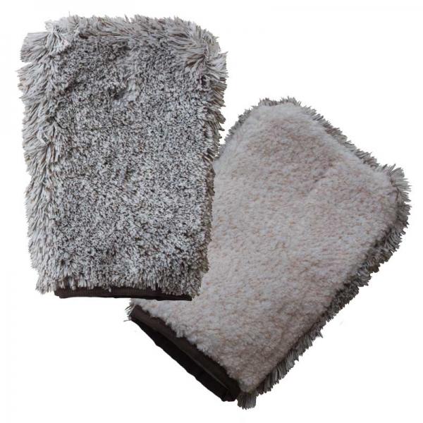 Manusa Premium E-Cloth din Microfibra pentru Ingrijire si Masaj Cani si Pisici, 23.5 x 17 cm 2