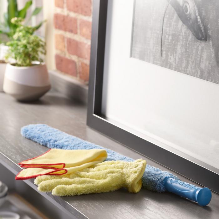 Manusa Premium E-Cloth din Microfibra pentru Praf, Marime Universala [5]