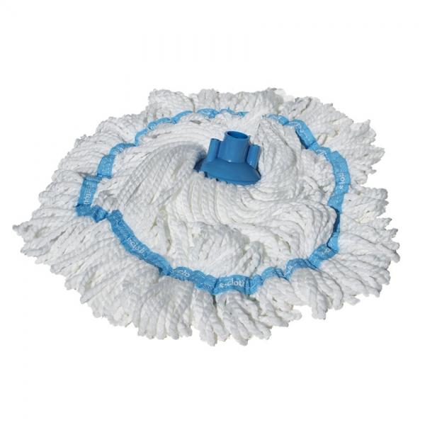 Rezerva Mop Clasic Premium E-Cloth cu Maner Telescopic pentru Curatat Parchet, Gresie, Lemn, Piatra 3