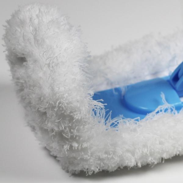 Mop de Praf Premium E-Cloth Flexibil pentru Pardoseli si Pereti, Maner Telescopic Max. 1.5 m 7
