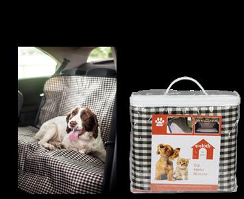 Husa Protectie Premium E-Cloth pentru Interiorul Masinii, Rezistenta la Apa,142 x 123 cm 1