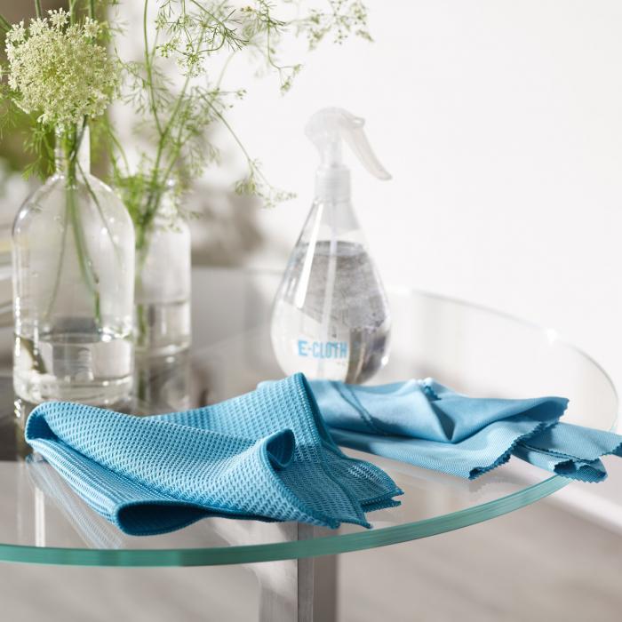 Pulverizator Premium E-Cloth pentru Apa, Geamuri, Oglinzi,  250 ml, Albastru [3]