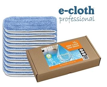 Set 10 x Laveta Premium E-Cloth din Microfibra pentru Mop, 45 x 13.5 cm, Hotel, Restaurant, Pub 0