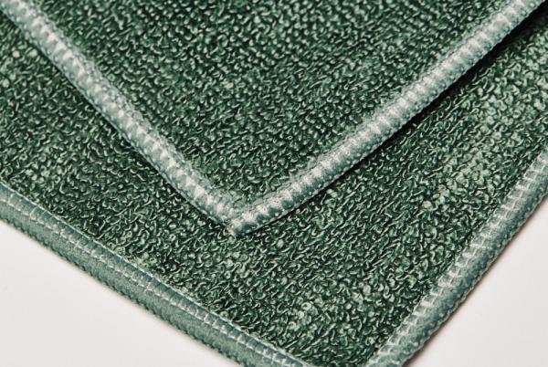 Set 10 x Laveta Premium E-Cloth Universala din Microfibra, Bucatarie, Baie, Geamuri, Praf, 32 x 32 cm, Verde 2