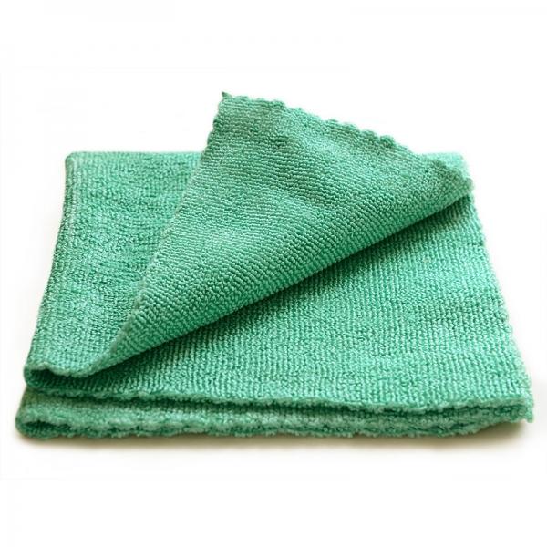 Set 10 x Laveta Premium E-Cloth Universala din Microfibra, Bucatarie, Baie, Geamuri, Praf, 32 x 32 cm, Verde 3