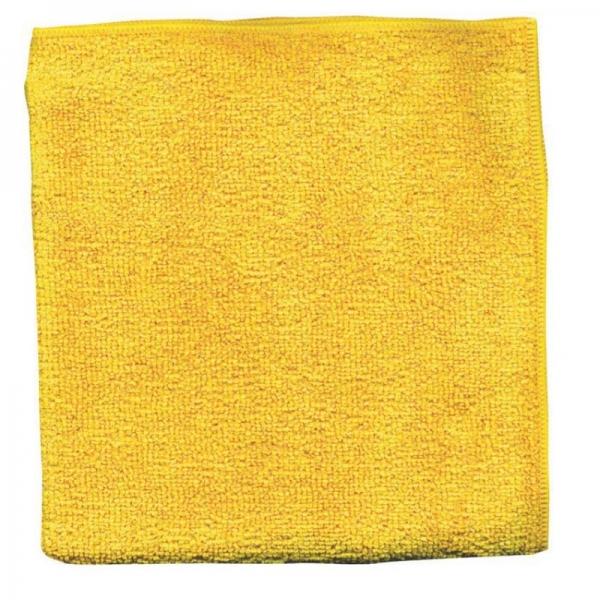 Set 10 x Laveta Premium E-Cloth Universala din Microfibra, Bucatarie, Baie, Geamuri, Praf, 32 x 32 cm, Galben 5