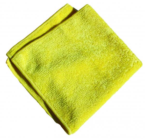 Set 10 x Laveta Premium E-Cloth Universala din Microfibra, Bucatarie, Baie, Geamuri, Praf, 32 x 32 cm, Galben 3