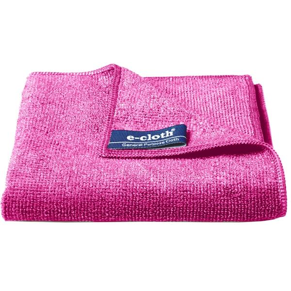 Set 10 x Laveta Premium E-Cloth Universala din Microfibra, Bucatarie, Baie, Geamuri, Praf, 32 x 32 cm, Rosu 2