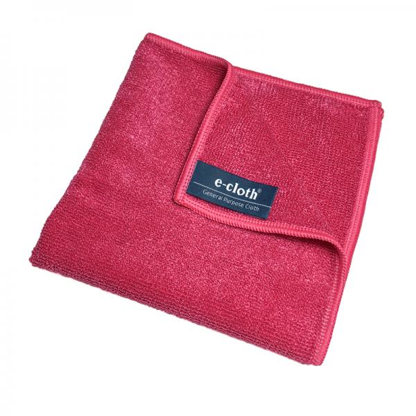 Set 10 x Laveta Premium E-Cloth Universala din Microfibra, Bucatarie, Baie, Geamuri, Praf, 32 x 32 cm, Rosu 1