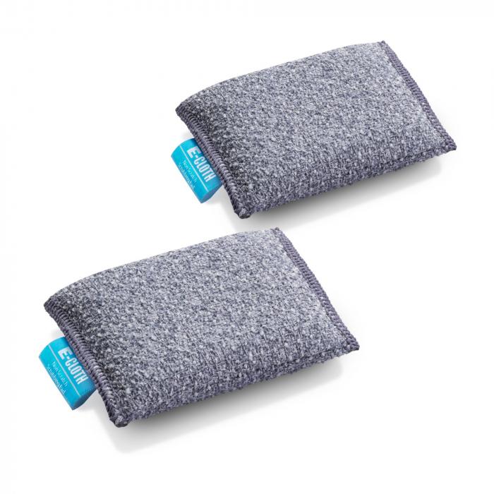 Set Doi Bureti Premium E-Cloth din Microfibra pentru Bucatarie si Baie, Cada, Chiuveta [1]