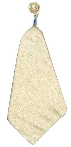 Set Doua Lavete Premium E-Cloth din Microfibra pentru Curatare si Lustruire Cabina de Dus, 32 x 32 cm, Carlig cu Ventuza 3