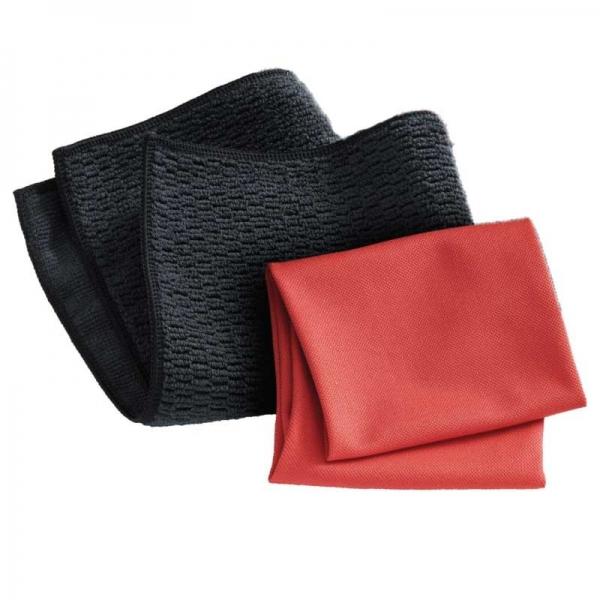 Set Doua Lavete Premium E-Cloth din Microfibra pentru Curatarea Suprafetelor si Blaturilor din Granit, 32 x 32 cm 2