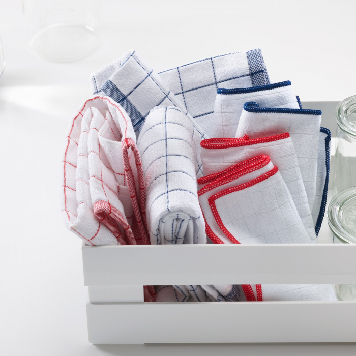 Set Doua Lavete Premium E-Cloth din Microfibra Antibacteriana pentru Spalat si Uscat in Bucatarie, 32 x 32 cm [4]