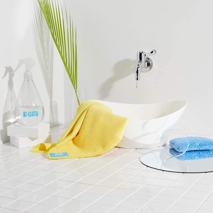 Set doua lavete premium din microfibra e-cloth pentru baie [3]