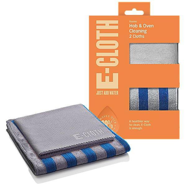 Set Două Lavete Premium E-Cloth din Microfibră pentru Cuptor, Plită, Aragaz, 32 x 32 cm [0]