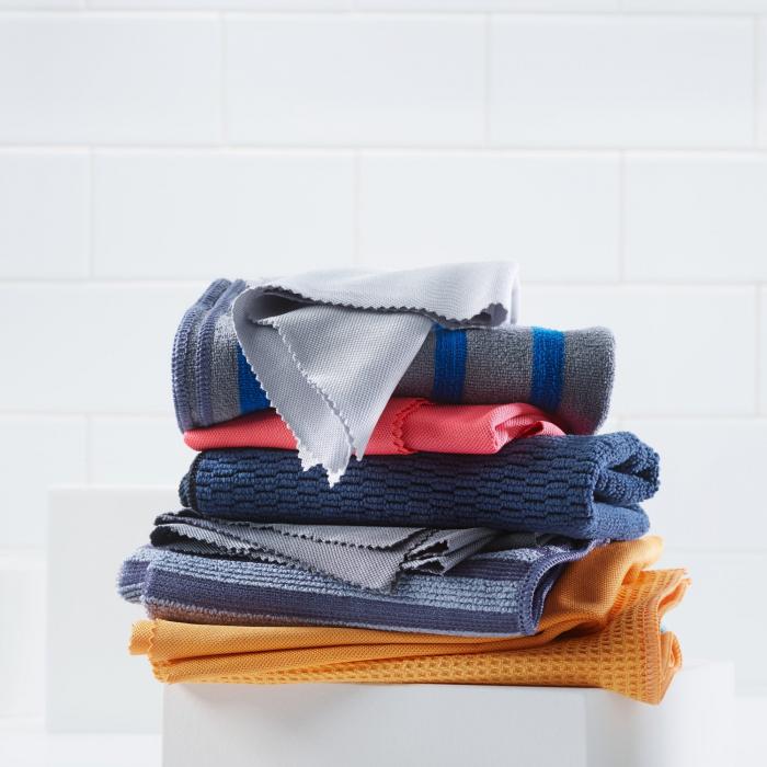 Set Doua Lavete Premium E-Cloth din Microfibra pentru Curatarea si Lustruirea Obiectelor din Inox, 32  x 32  cm [10]