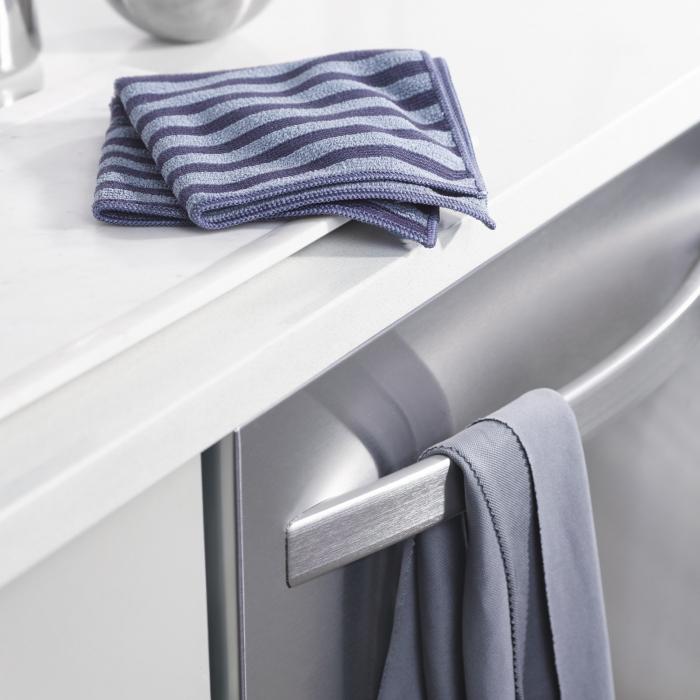 Set Doua Lavete Premium E-Cloth din Microfibra pentru Curatarea si Lustruirea Obiectelor din Inox, 32  x 32  cm [3]