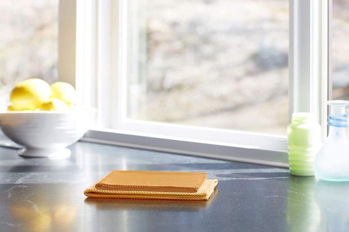 Set doua lavete premium din microfibra e-cloth pentru geamuri, oglinzi, vitralii, pervaze si tocarie [3]