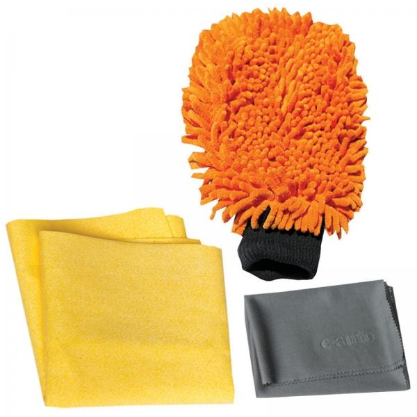 Set Premium E-Cloth din Microfibra pentru Spalat, Uscat si Lustruit Masina, 17 x 26 cm 5