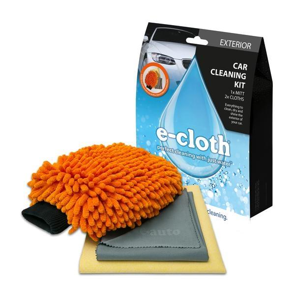 Set Premium E-Cloth din Microfibra pentru Spalat, Uscat si Lustruit Masina, 17 x 26 cm 1