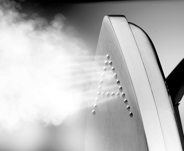 Sistem de Calcat Integrat Polti Vaporella Power System, Functie Suflare, Functie Aspirare, Functie Incalzire Blat, Talpa Aluminiu, 2440 W, 1.5l, 3 BAR, Jet Abur 110 gr/min, Gri 2