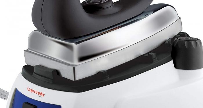 Statie de Calcat Polti Vaporella 515 Pro, Talpa Aluminiu, 1750 W, 0,9 l, 3.5 Bar, 90 gr/min, Alb/Albastru 5